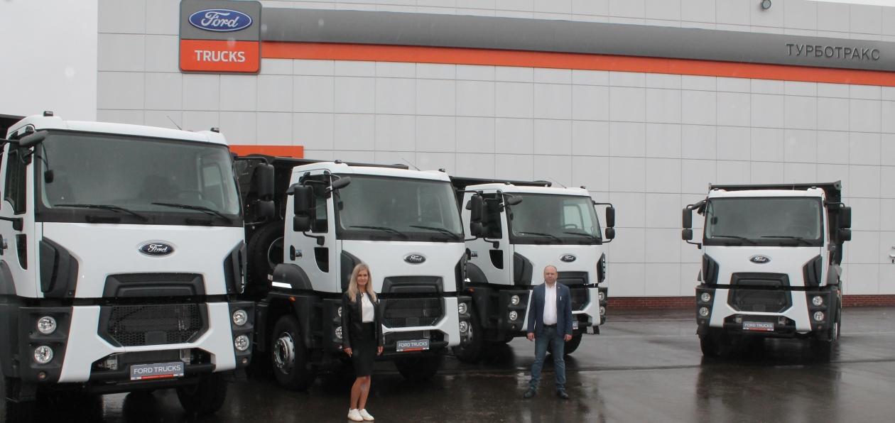 Самосвалы Ford отправятся на Камчатку