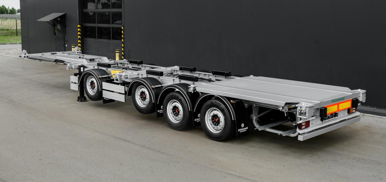 Grunwald представил новый полуприцеп-контейнеровоз