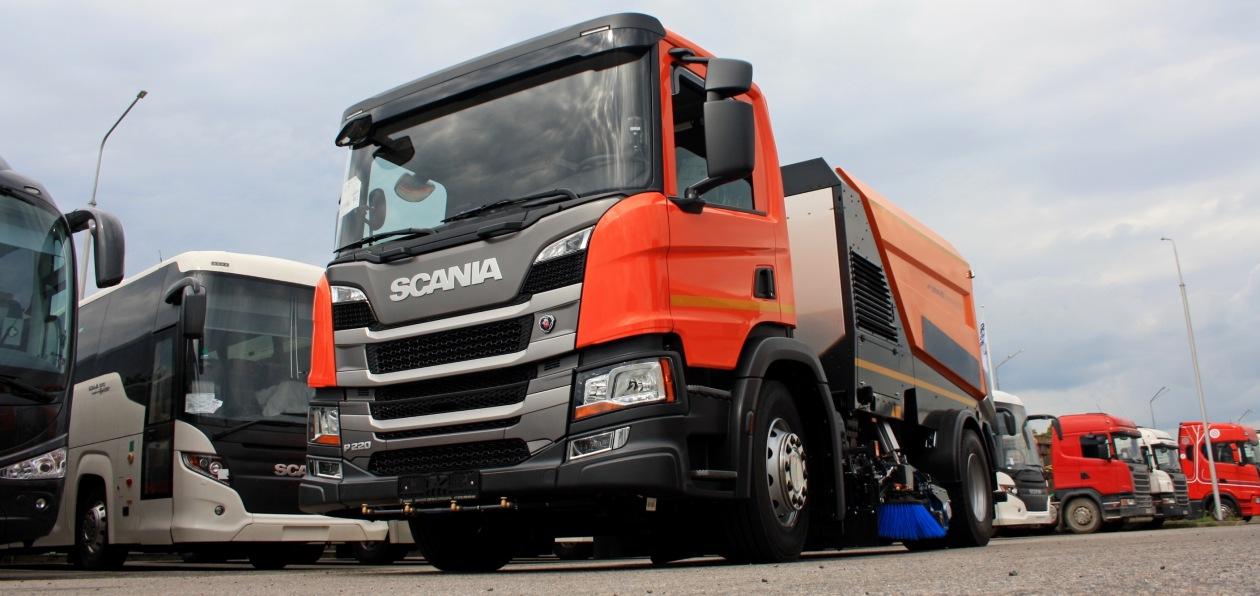 Уборочные машины Scania будут работать в Сочи