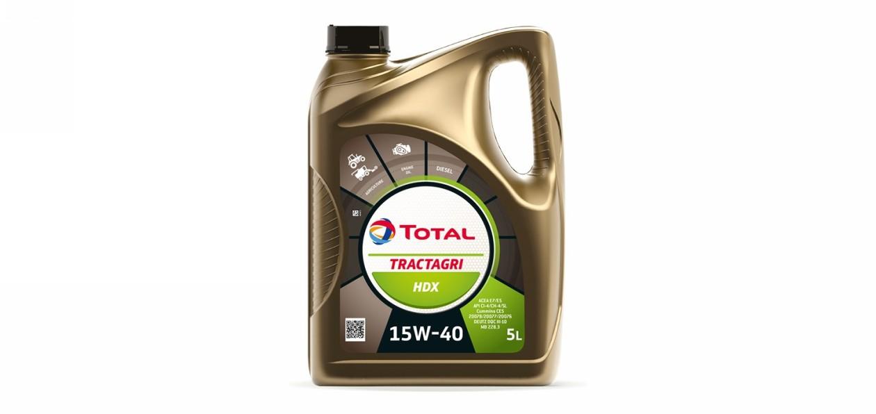 Total представил масло для сельхозтехники