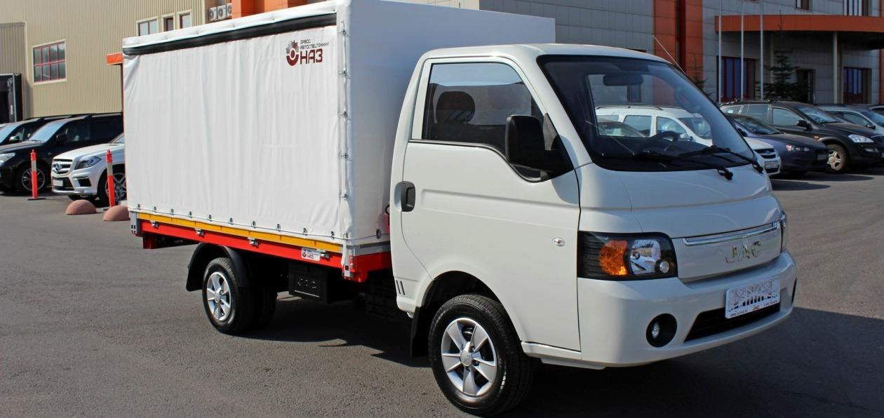 JAC сертифицировал в России новый легкий грузовик