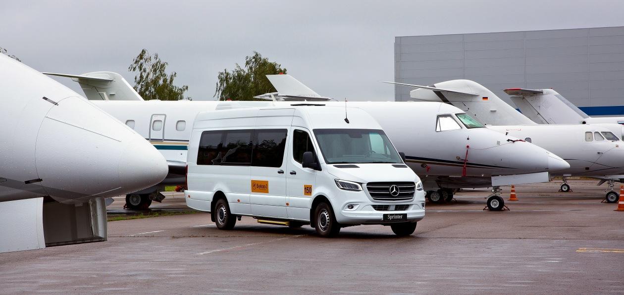 Новый Mercedes Sprinter с VIP-салоном будет работать во «Внуково-3»