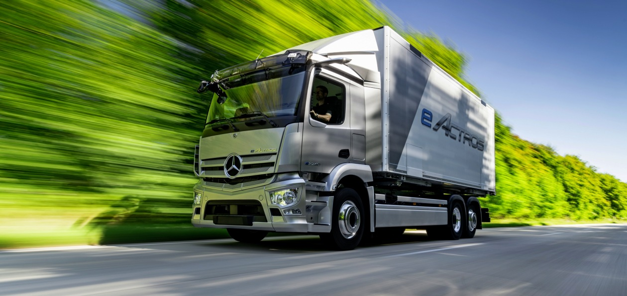 Новый Mercedes eActros пойдет в серию в 2021 году