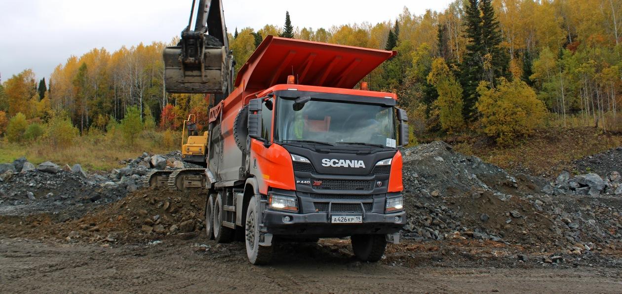 Scania представила новый самосвал семейства Hagen