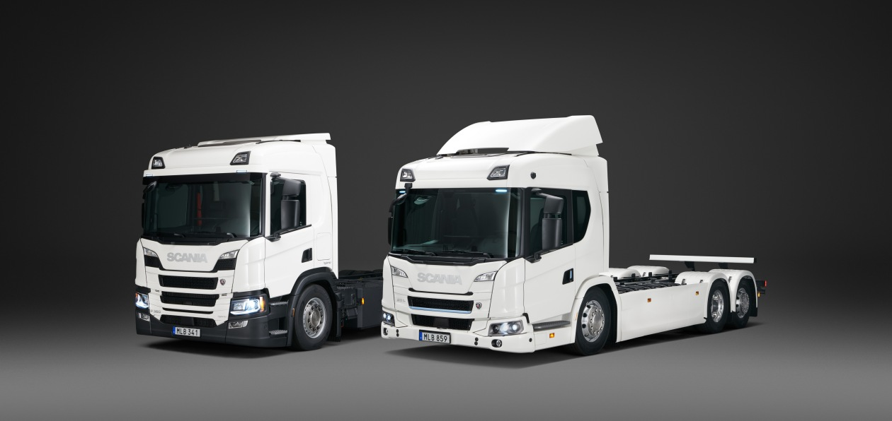 Электрогрузовики Scania пошли в «серию»