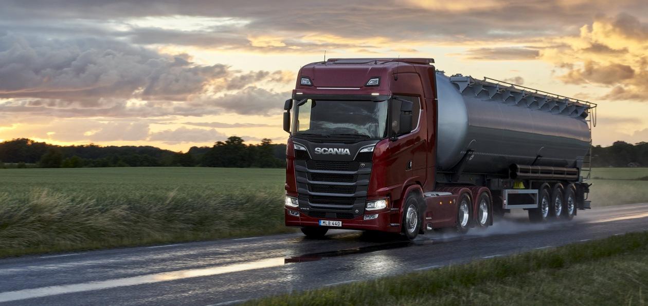 Scania обновила линейку двигателей и трансмиссий