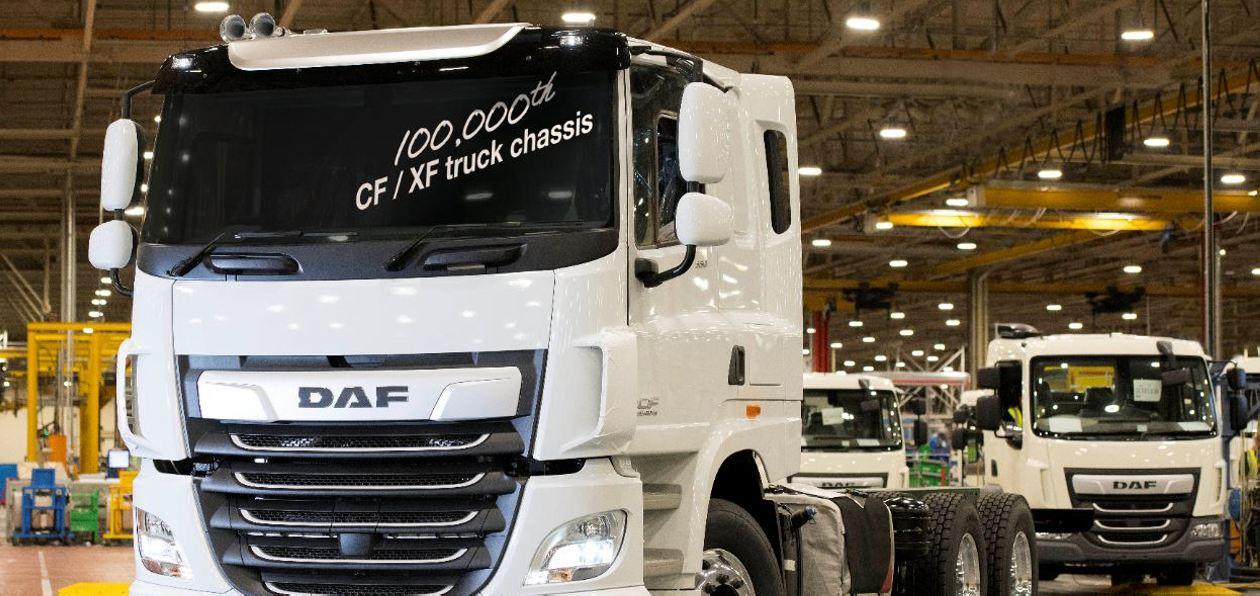 Leyland Trucks выпустил юбилейный грузовик DAF