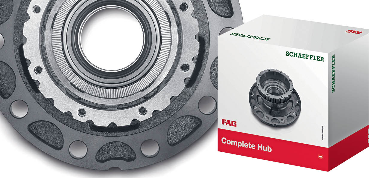 Новый ступичный модуль FAG — оптимальное решение для ремонта колесных подшипников