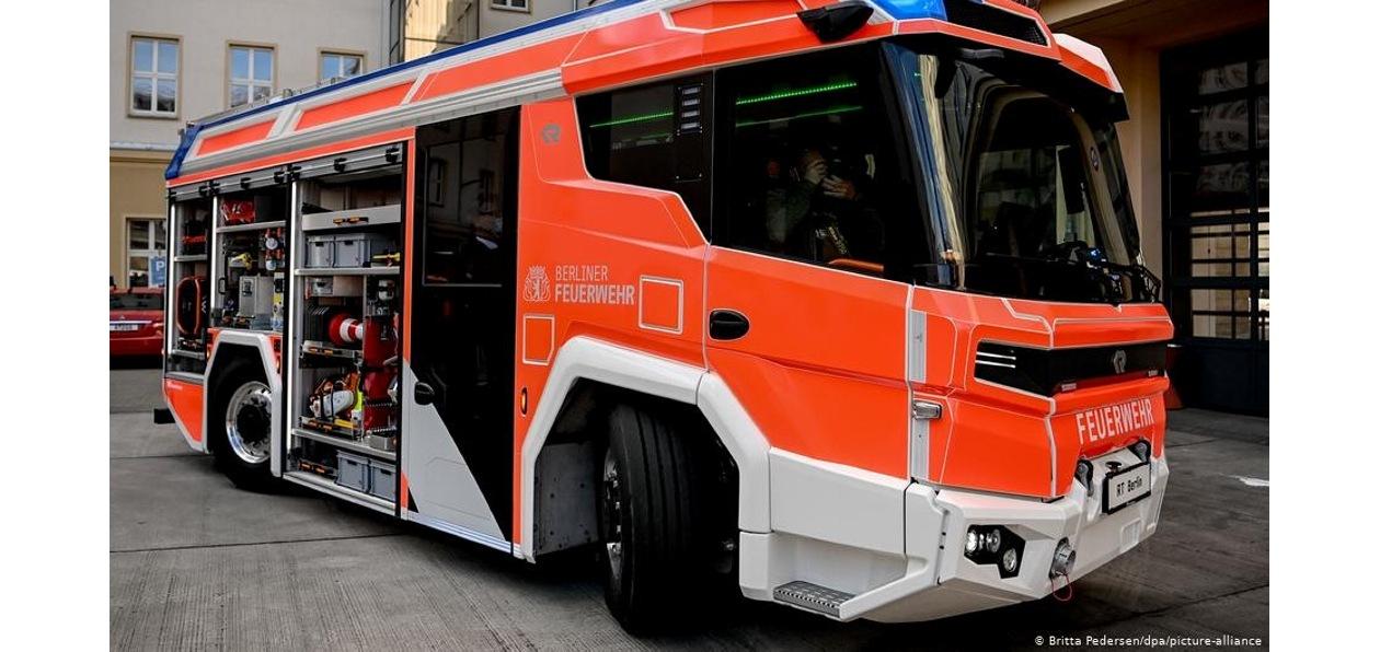 В Берлине будет работать пожарный электромобиль