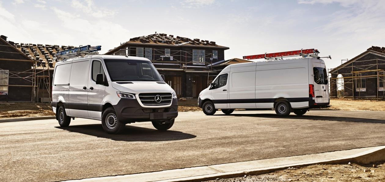Mercedes-Benz Sprinter стал доступен в новой спецверсии