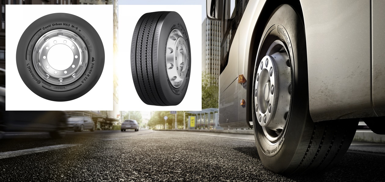 Continental выпустил новые шины для электробусов