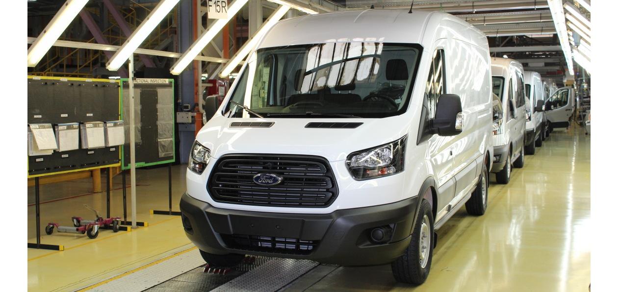 Ford выпустил в России 90-тысячный Transit