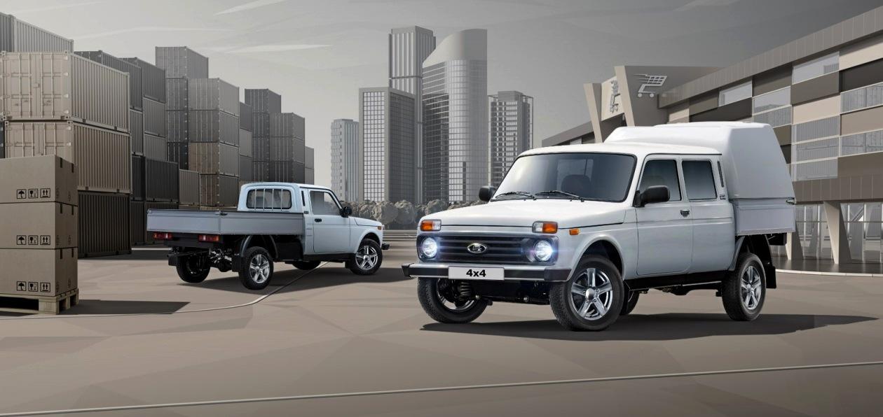 АвтоВАЗ обновил коммерческие версии внедорожника Lada 4x4