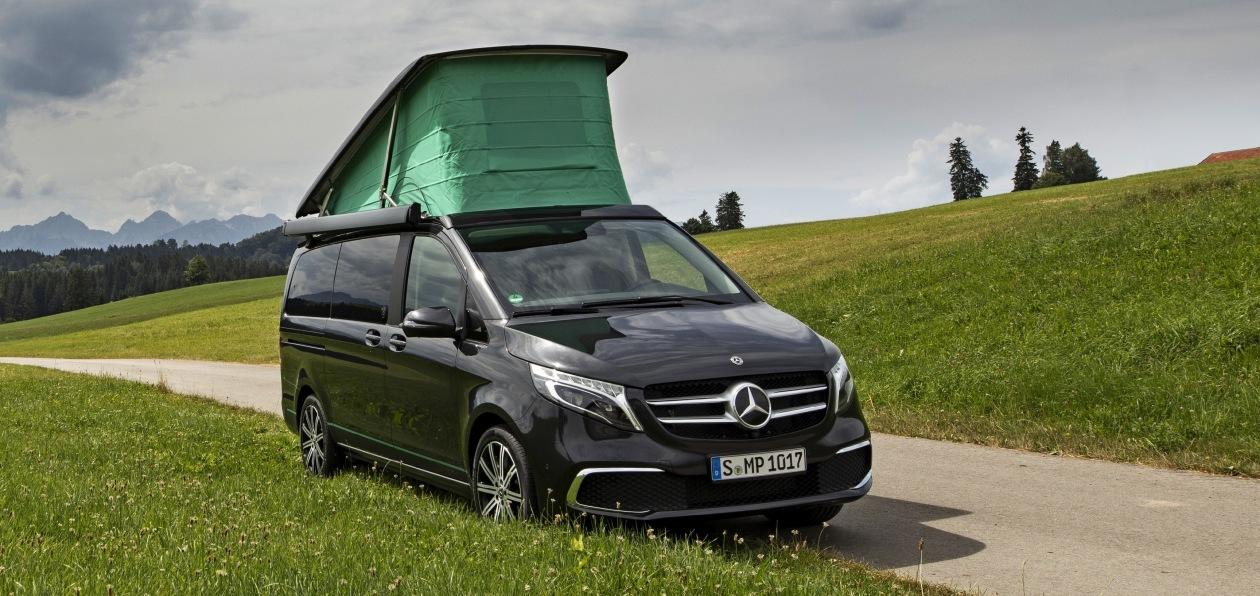Mercedes V-Class Marco Polo получил юбилейную спецверсию