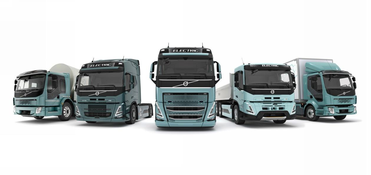Новые электрогрузовики Volvo поступят в продажу в Европе в 2021 году