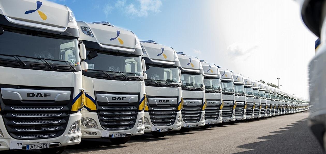 Испанский перевозчик заказал DAF Trucks свыше тысячи тягачей