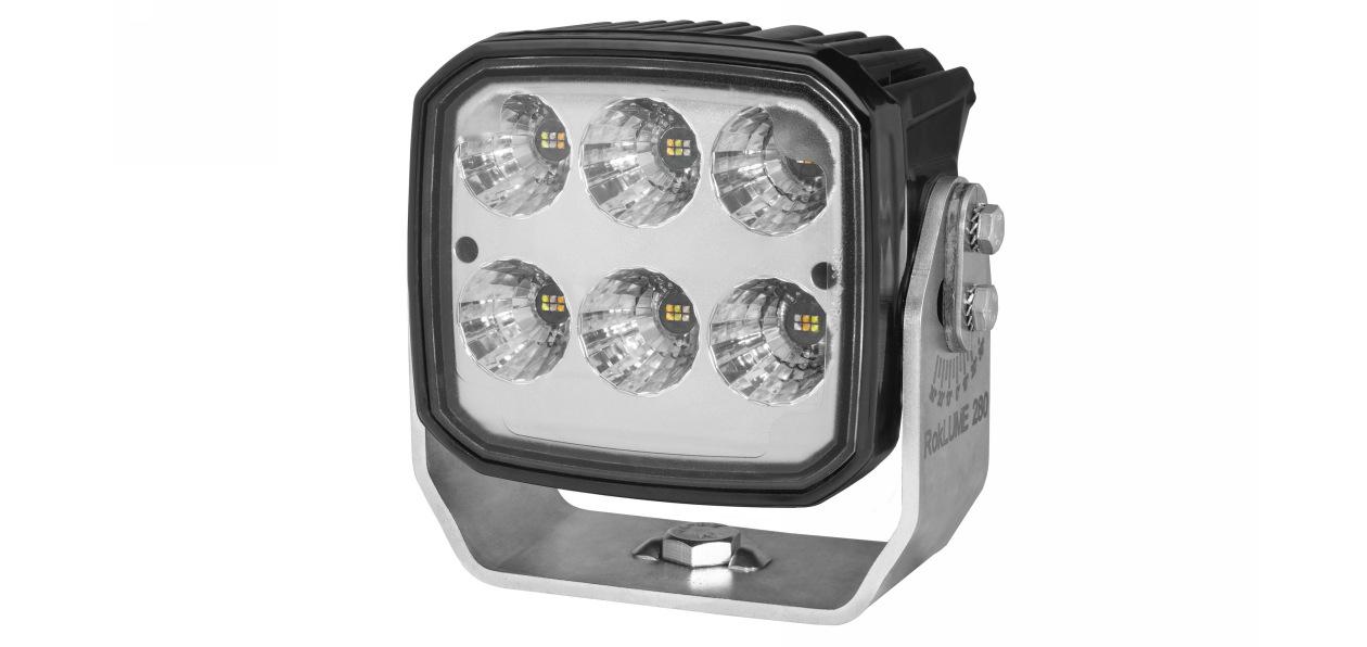 Hella представила новую лампу рабочего света для спецтехники