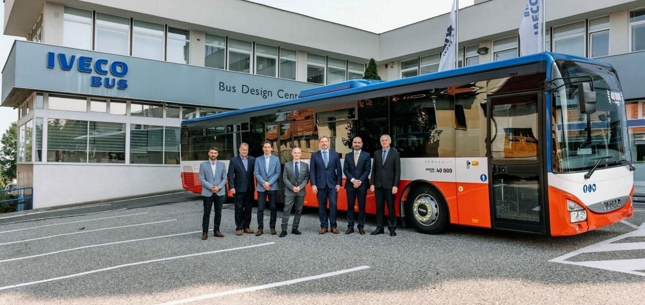 Iveco Bus выпустил 40-тысячный Crossway