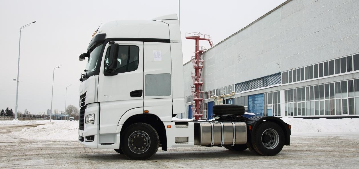 КАМАЗ улучшил покраску своих грузовиков