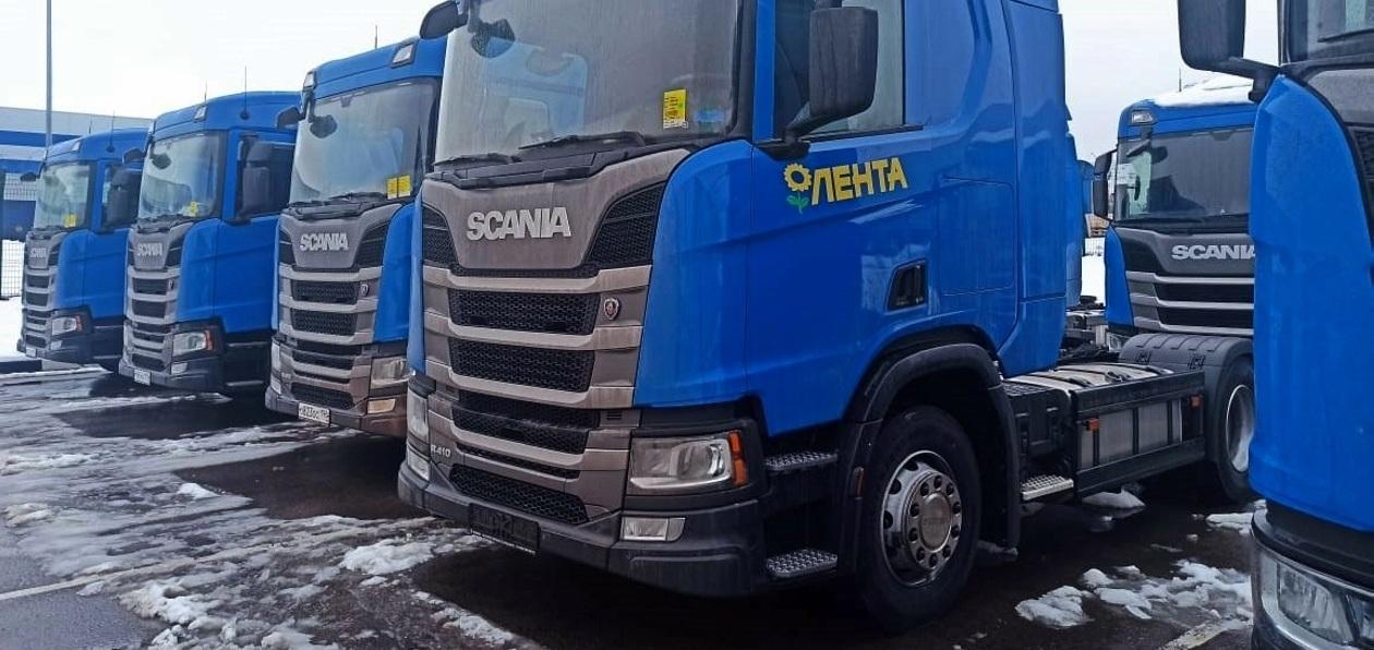 Грузовики Scania будут работать в «Ленте»