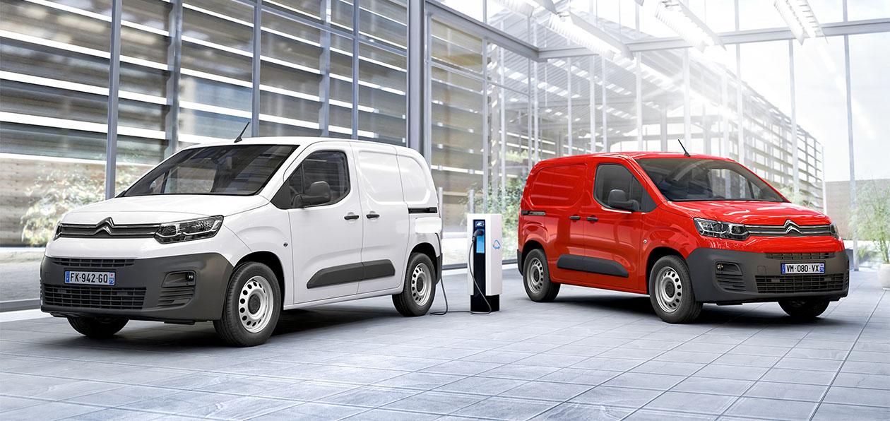 Citroen показал электрическую версию нового Berlingo Van
