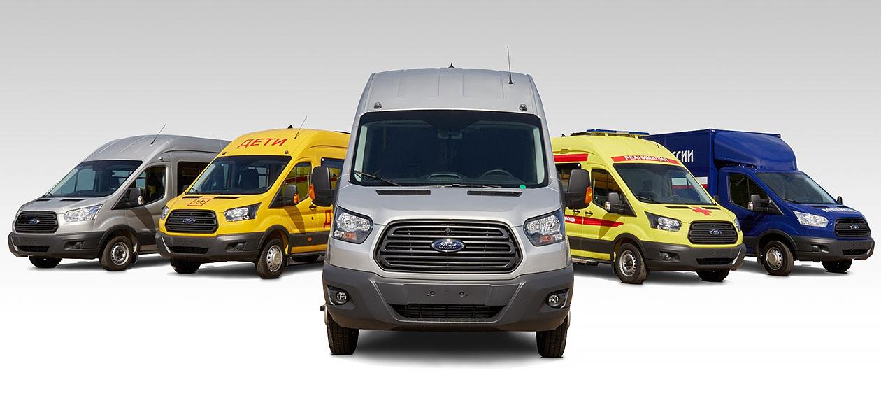 «Соллерс Форд» отчитался о рекордных продажах вэнов Transit в России