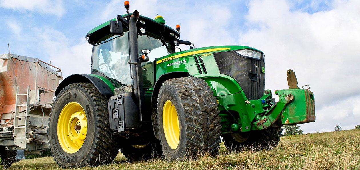 Michelin расширил линейку шин для тракторов