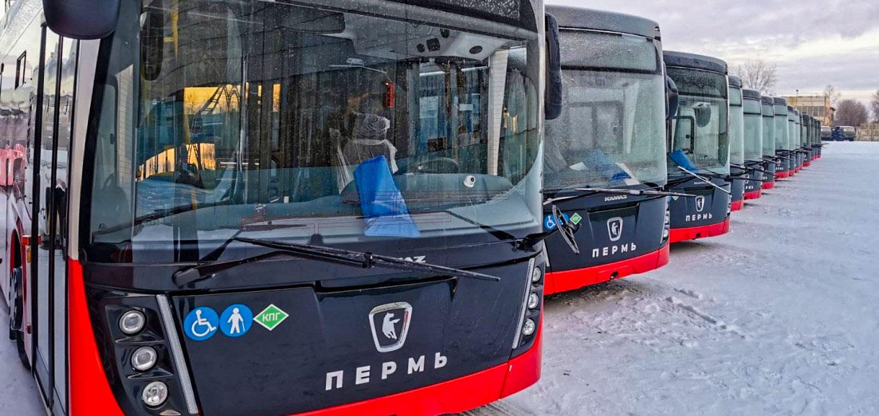 «НЕФАЗ» поставил в Пермь новые низкопольные автобусы