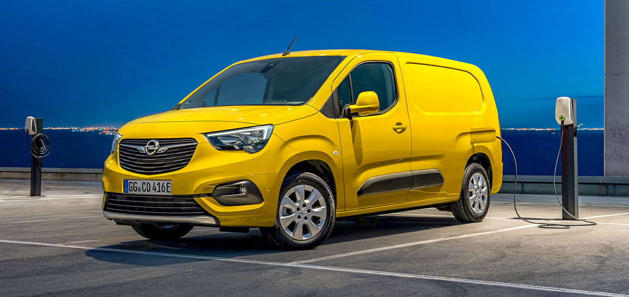 Opel представил электрический Combo