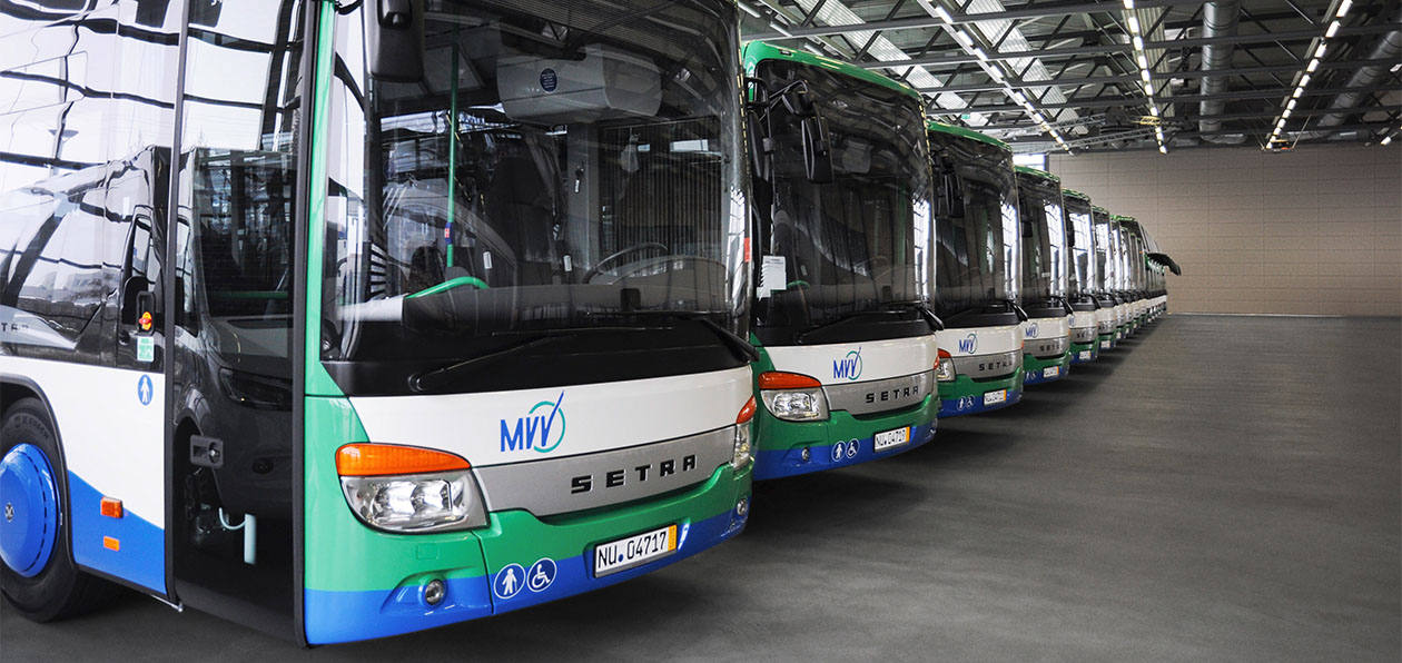 Немецкий перевозчик получил партию автобусов Setra