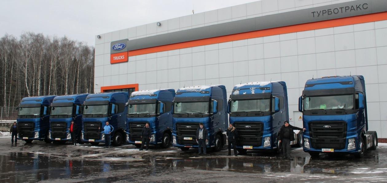 Российский перевозчик закупил крупную партию тягачей Ford F-Max