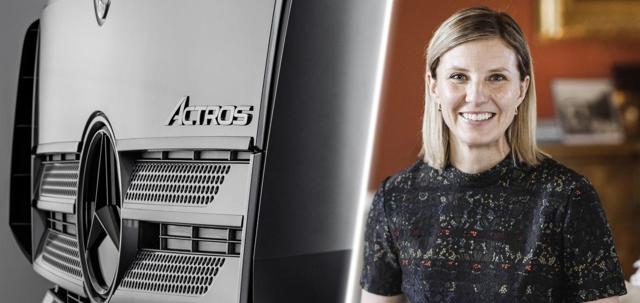 Грузовым подразделением Mercedes будет «рулить» бывшая топ-менеджер Scania
