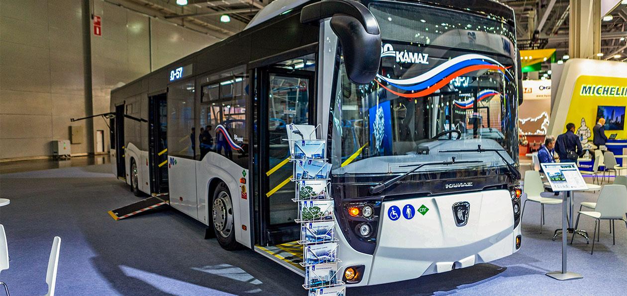 «НЕФАЗ» представил новый газовый автобус