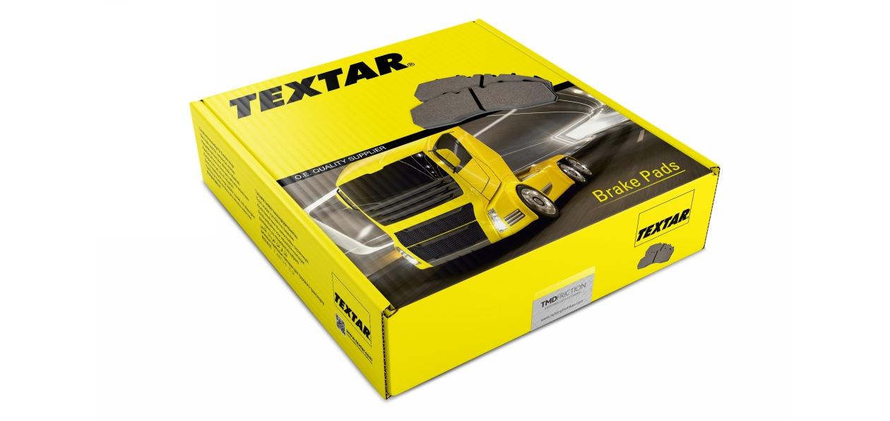 Запчасти Textar для коммерческого транспорта получили новую упаковку