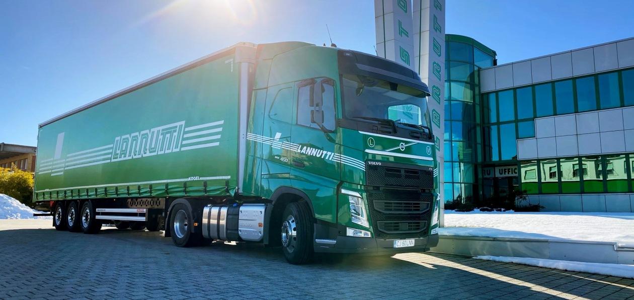 Volvo выпустит тысячу тягачей для итальянского перевозчика
