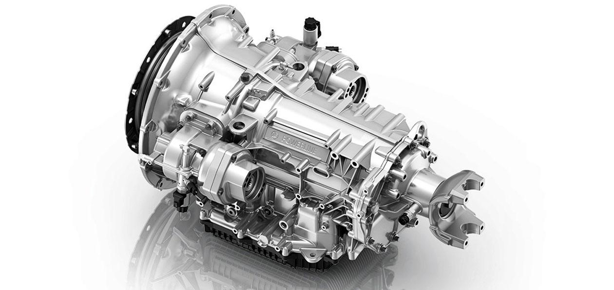 На американские грузовики установят новую трансмиссию ZF
