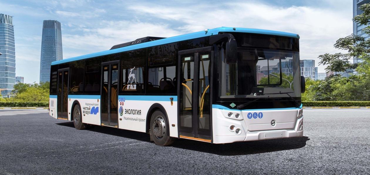 ЛиАЗ запустил в производство новый газовый автобус
