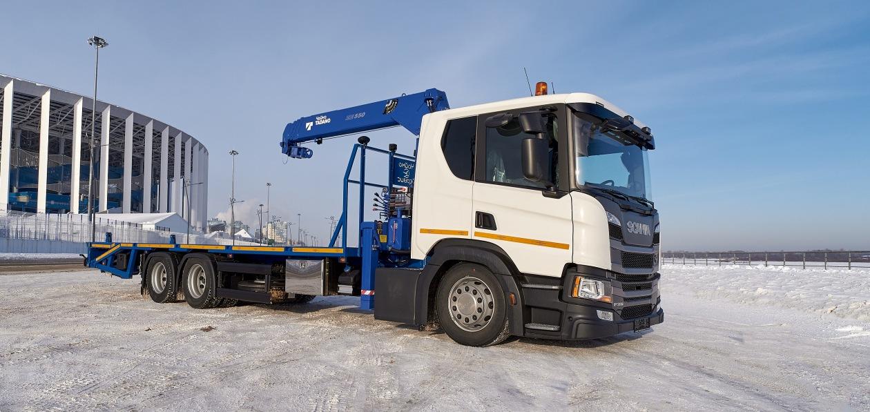Эвакуатор на шасси Scania будет работать в столичном регионе