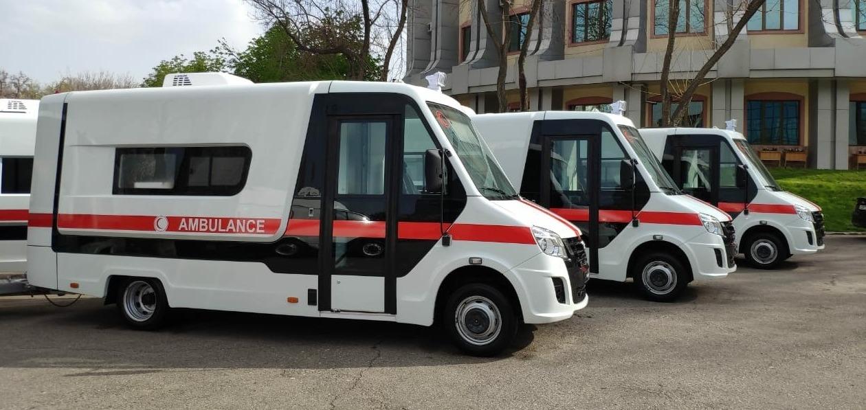 Медицинские машины марки «ГАЗ» будут работать в Узбекистане