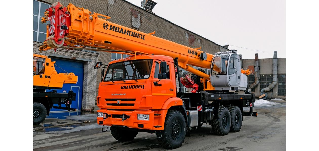 ИМЗ «Автокран» выпустил новую 25-тонную модель
