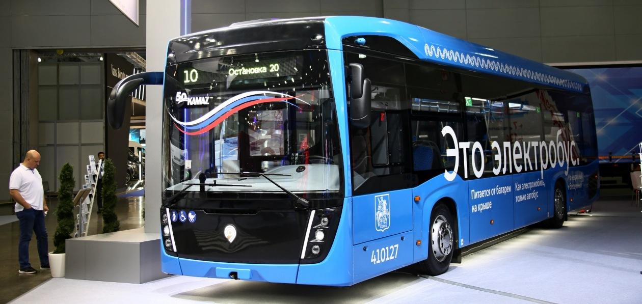 «КАМАЗ» запустил в Москве производство электробусов