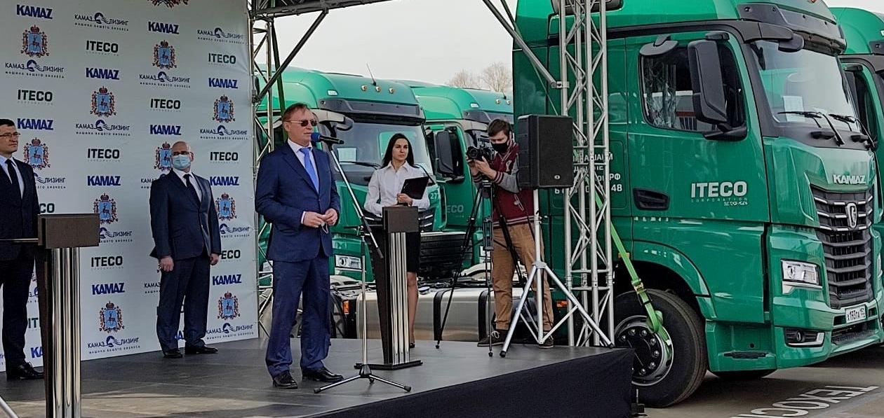 «КАМАЗ» поставит «Итеко» тысячу грузовиков