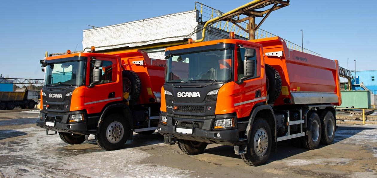 Scania построила самосвалы специально для НЛМК