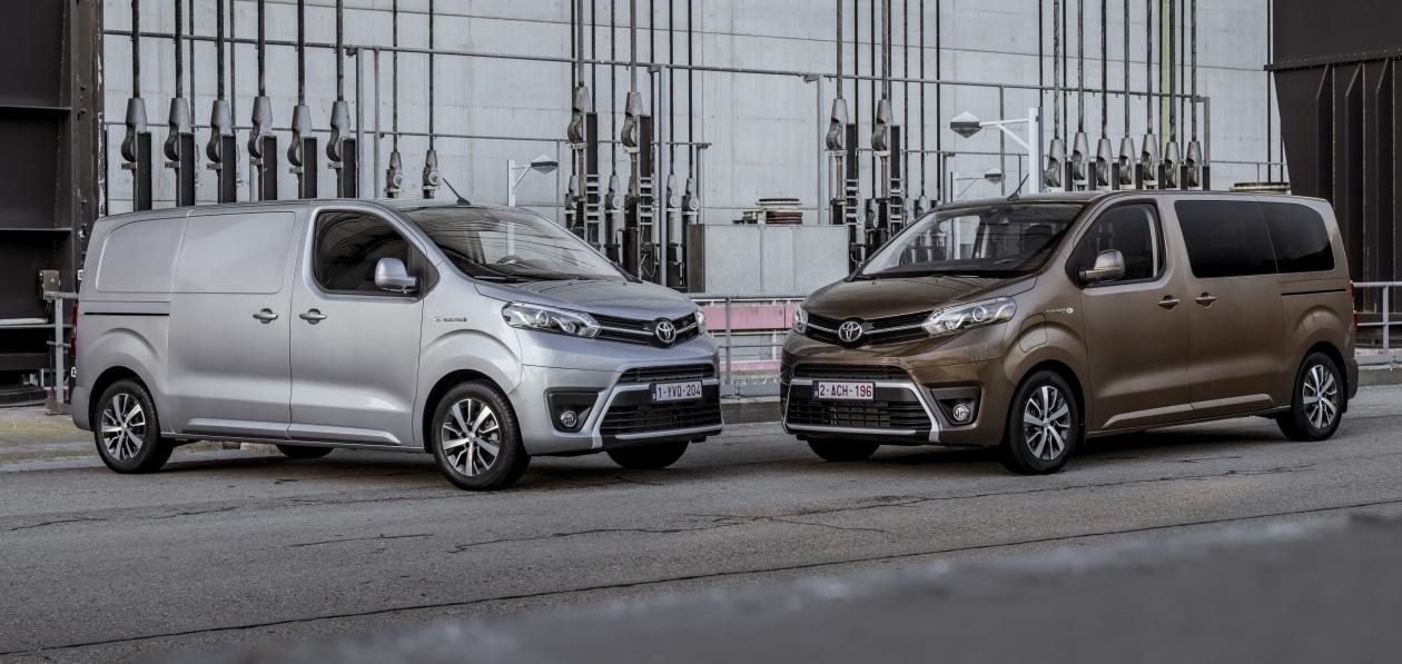 Toyota расширяет географию европейских продаж новых электровэнов