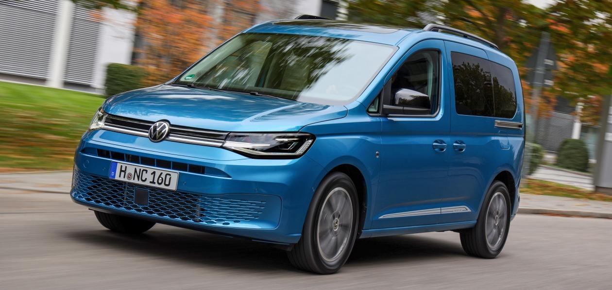 Новый Volkswagen Caddy стал доступен для заказа в России
