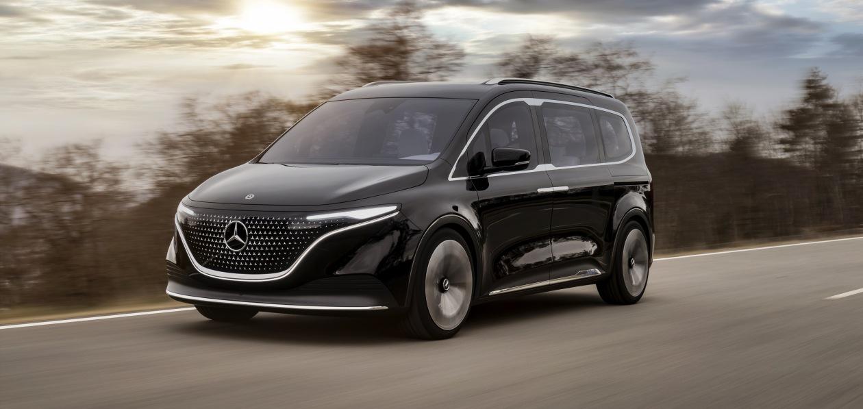 Mercedes представил концептуальный «электрокаблук»