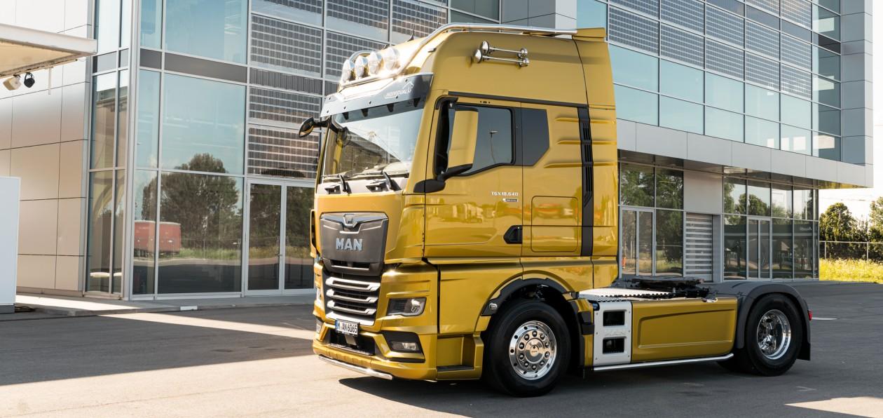 MAN представил новое поколение грузовиков в России