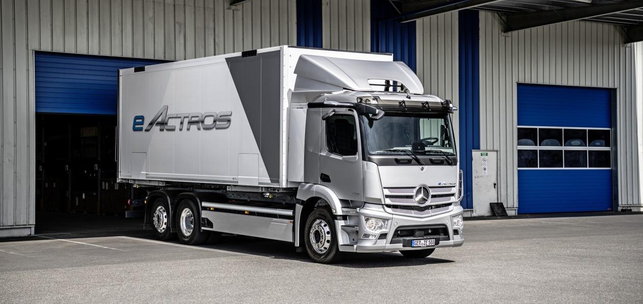 Mercedes «рассекретил» новый eActros