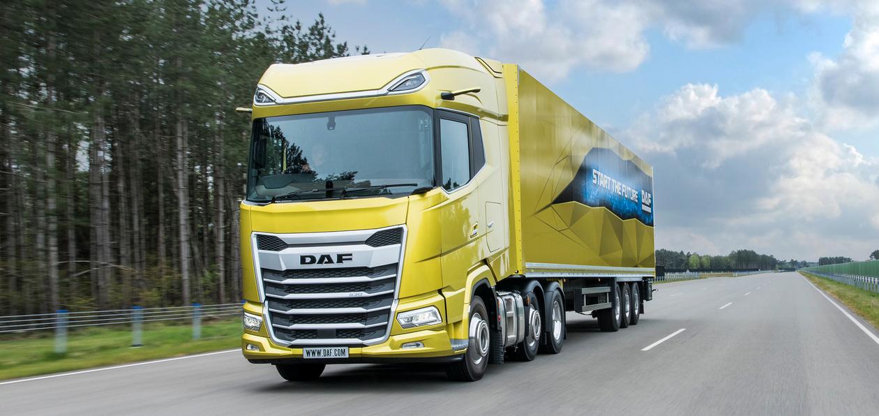 DAF показал грузовики нового поколения