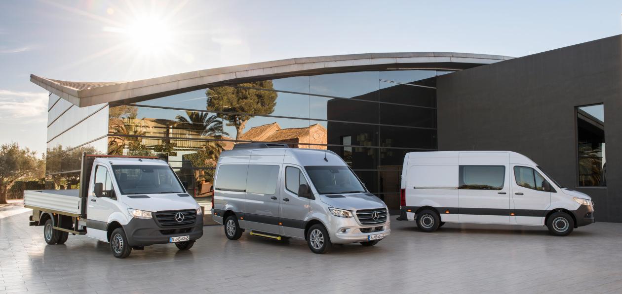 Все модификации Mercedes-Benz Sprinter получат новый дизельный двигатель